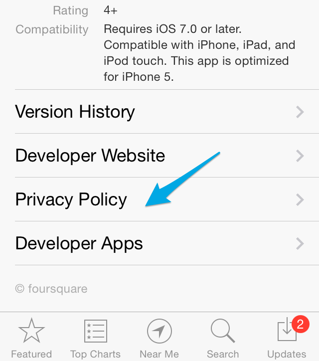 Privacy Policy For Apps